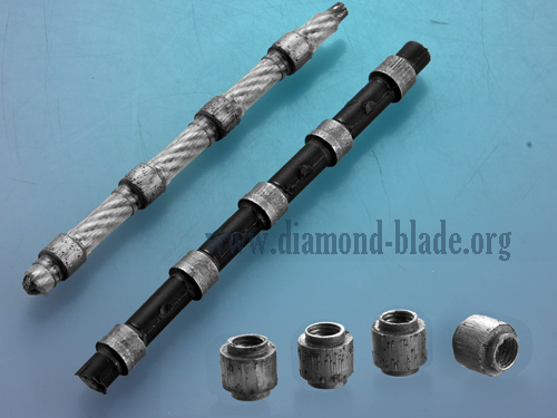 diamond wire saw and beads