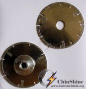 Electroplated diamond circular blade