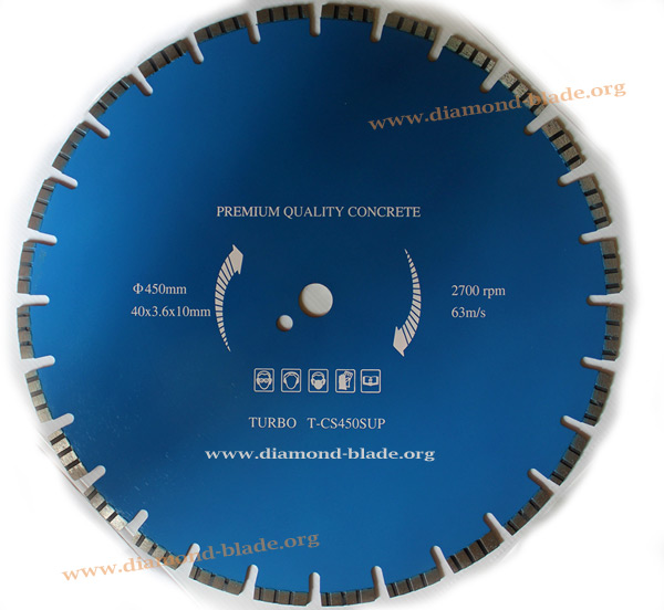 concrete saw blades
