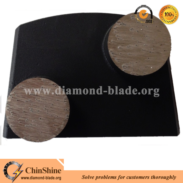 trapezoid grinding shoe