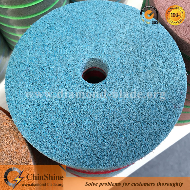 diamond twister pads sponge for marble polishing