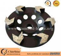 Quality Arrow Diamond Grinding Cup Wheel for Concrete for sales