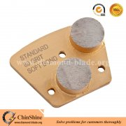 Universal use metal diamond floor grinding segment for concrete