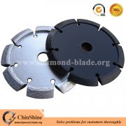 Premium dry cut V shape crack chaser blade for concrete chasing and repairing