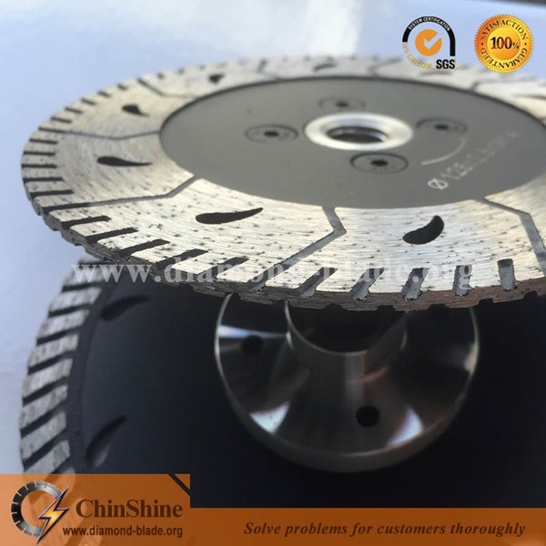 Diamond Blade Diamond Grinding And Cutting Disc For Granite Cutting With Flange