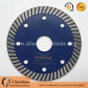 Chipping free 4 inch narrow turbo granite dry diamond cutting disc