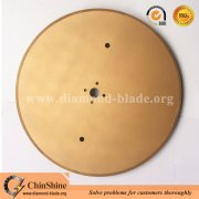 ChinShine large electroplated diamond fibreglass insulation cutting saw blade disc