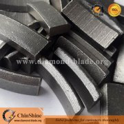 ChinShine V shaped Roof Top Diamond core drill bit segments for concrete