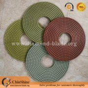 big size 350mm 400mm diamond floor polishing pads for stone concrete granite