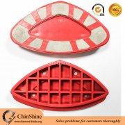 Newly design cheap Cassani diamond grinding shoe pads for concrete and stone