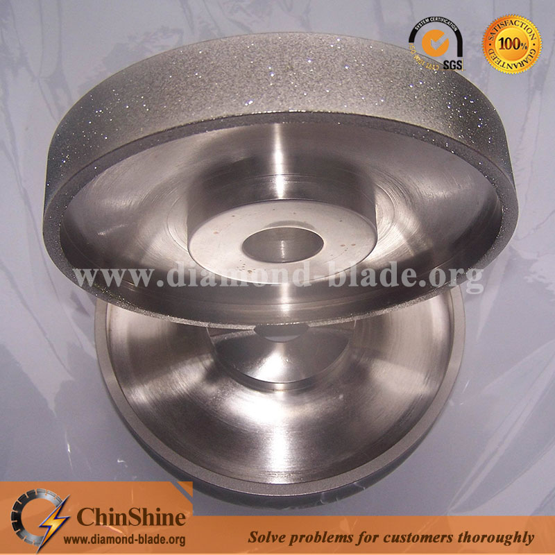 electroplated diamond lapidary grinding wheel