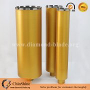 450mm silver brazing concrete diamond core bits with 5/8-11 thread
