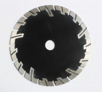 "Buy 5"" diamond cutting disc with protect teetch for granite for Palestine Market"