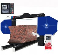 Buy China CNC Diamond Wire Saw Machine for profiling and cutting from Professional Manufacturer