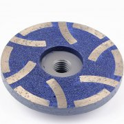 "100mm 4"" Resin Filled diamond grinding cup wheels for granite marble quartz"
