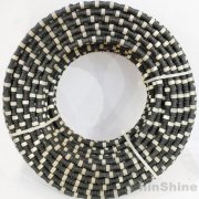 Buy China best diamond wire saw rope for granite marble quarry from manufacturer