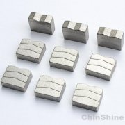 China best diamond segments for multi blade block cutting machine